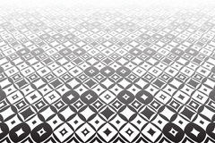 Tiled surface. Geometric background. Royalty Free Stock Photography