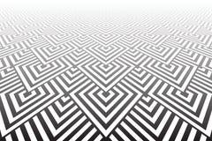 Tiled texturizó la superficie Geométrico abstracto Fotografía de archivo
