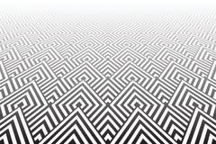 Tiled texturizó la superficie Geométrico abstracto Fotografía de archivo libre de regalías