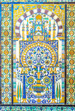 The tiled tracery Royalty Free Stock Photo