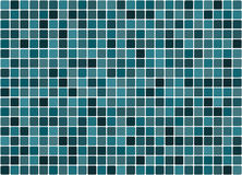 Tiled turquoise background Stock Images