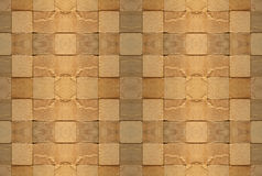 Tiled wall 2. A section of wall made of roughly finished tiles Stock Photo