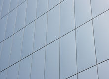 Tiled wall. Wall of a trade center building Stock Image
