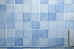 Tiled wall Stock Photo