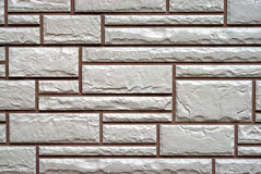 Tiled wall background Stock Images