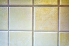Tiled wall Stock Image