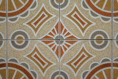 Tiled wall texture Stock Photography