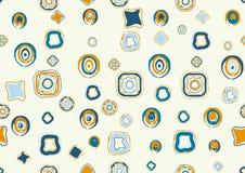 Tiled wallpaper. Seamless stylish background.Vector illustration Stock Images