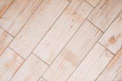 Tiled wood board floor - wooden parquet tiles / laminate stock photos