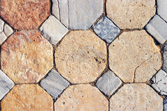 Tiles. Old floore stock image