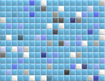 Tiles. Swimming Pool Blue Tiles Photo Realistic Rendering Stock Photography