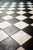Tiles. Floor pattern in high contrast Royalty Free Stock Photo