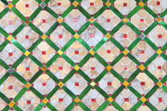 Tiles. Different color of tiles on the Wall Royalty Free Stock Image