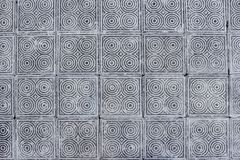 Tiles. Pattern made by concrete tiles Stock Images