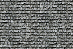 Tiles. Gray old tiles on a wooden roof in countryside Stock Photos