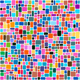 Tiles abstract background, colorful mosaic Royalty Free Stock Images