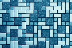 Tiles. Abstract tile texture background closeup Stock Photo
