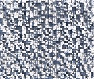 Tiles abstract. White concrete shapes on sunny day Vector Illustration