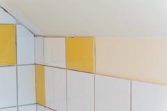 Tiles in the bathroom Stock Photo