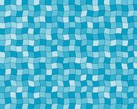 Tiles blue Stock Image