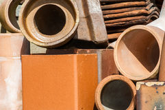 Tiles and building materials Stock Photography