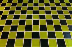 Tiles chessboard Royalty Free Stock Photo