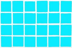 Tiles colorful  cyan Stock Image