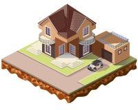 Tiles cottage6 royalty free stock photos
