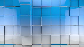Tiles cubes background stock footage