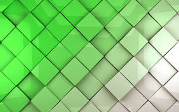 Tiles cubes background Stock Image