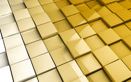 Tiles cubes formation background Stock Photography