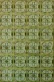 tiles den keramiska modellen för abstrakt bakgrundsbrown tappning Arkivfoton