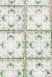Tiles with diamonds Stock Photos
