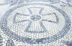 Tiles with diamonds Royalty Free Stock Photo