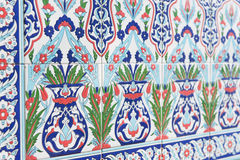 Tiles with eastern pattern Stock Image