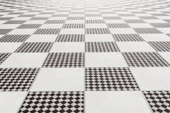 Tiles floor. 3d rendering of a bath tiles floor stock illustration