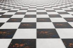 Tiles floor Stock Image