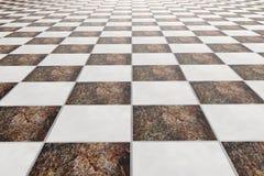 Tiles floor Stock Photo