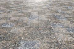 Tiles floor Stock Images
