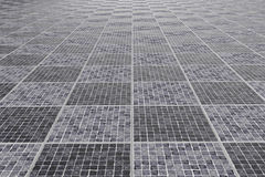 Tiles floor. 3d rendering of a square tiles stone floor vector illustration