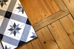 Tiles and floor Stock Photos