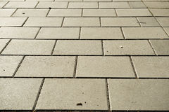 Tiles. On a footwalk path Royalty Free Stock Photos