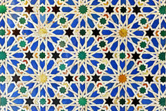 Tiles Glazed, Alcazar Royal Palace In Sevilla, Spain