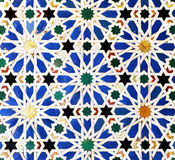 Tiles Glazed, Azulejos, Alcazar Royal Palace In Sevilla, Spain