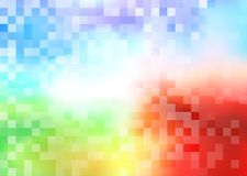 Tiles halftone colorful background Royalty Free Stock Images