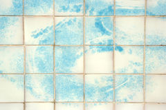 Tiles hand painted Royalty Free Stock Image