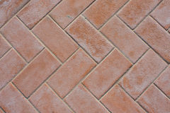 Tiles  in herringbone shape Royalty Free Stock Image
