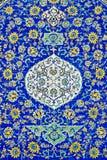 Tiles in isfahan iran. Persian ceramic tiles in isfahan iran Stock Photos