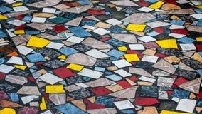 Tiles in Jaco in Costa Rica Royalty Free Stock Image