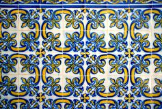 Tiles of Loios convent in Santa Maria da Feira royalty free stock image